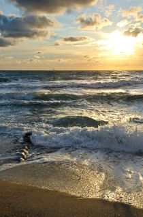 Meerbuhnesonneuntergang