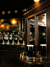 Irish Pubs Serie: Toner's Dublin Ireland Pint of Guinness by robert-von-aufschnaiter