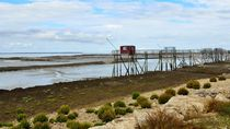 After the Flood, Carrelets on Ile Madame, Charente Maritime, France by 7horses
