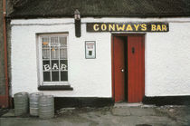 Irish Pubs Serie: Conway's Bar Rathmelton Co. Donegal von robert-von-aufschnaiter