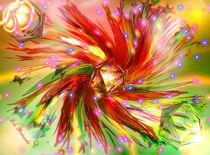 Blütenfeuer by Eva Borowski