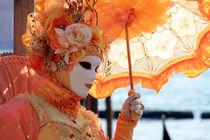 Maske mit Schirm von Joachim Hasche