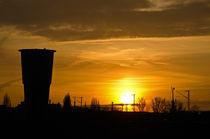 Urbaner Sonnenuntergang by caladoart