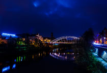 Bamberg at night by jstauch