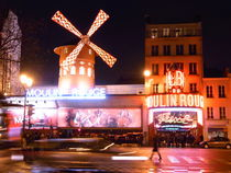 Moulin Rouge at Christmas von derdia
