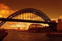 Tyne Sunset by John Ellis