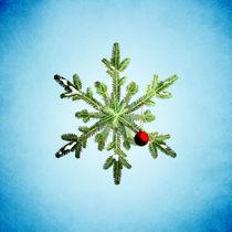 Pine-snowflake-print-square-society6