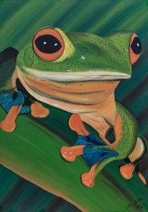 Frosch by Daliah Sölkner