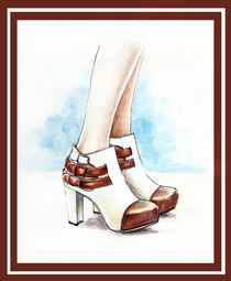 Carla  shoes by Tania Santos