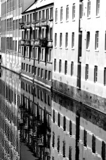 Häuser am Wasser by uta-behnfeld