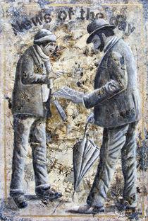 Der Zeitungsverkäufer von Roland H. Palm