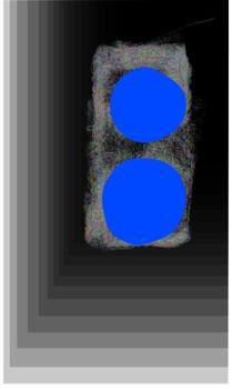 Blaues Licht by Margit-Maria Schneider