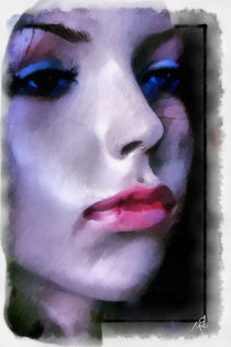 Doll - Face  by Wolfgang Pfensig