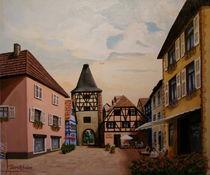 Turckheim en Alsace von Frank Tannert