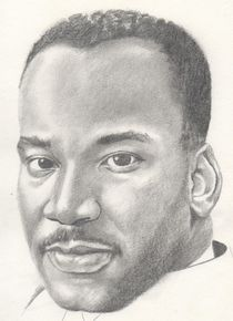 Martin Luther King jr by Michel Kress