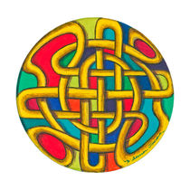 Celtic Mandala von themandalalady
