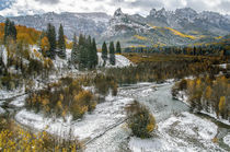 Uncompahgre Mountain Fall by Barbara Magnuson & Larry Kimball