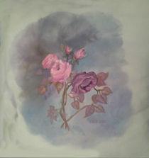 Pink Roses by Linda Ginn