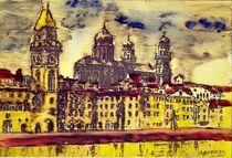 Passau im Regen by badauarts