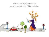 Das drollige Julchen : Glückwunsch zum Führerschein by Monika Blank-Terporten