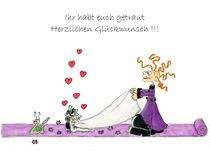 Das drollige Julchen : Glückwunsch zur Hochzeit von Monika Blank-Terporten
