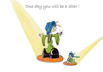 Das drollige Julchen : One day you will be a star von Monika Blank-Terporten