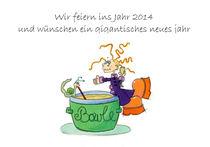 Das drollige Julchen : Wir feiern ins Jahr 2014 by Monika Blank-Terporten