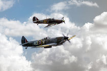 RAF Fighting Pair von James Biggadike