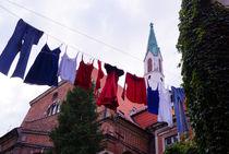 Wäsche in Riga by Sabine Radtke