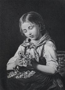 0655 - Blumenmädchen von stiche. biz