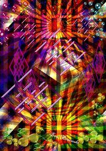 'Gitterstruktur' by Eva Borowski