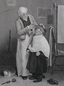 0723 - Haarschneider - Frisör von stiche. biz