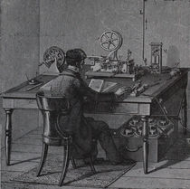 0858 Telegrapf - Telegraph  von stiche. biz