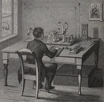 0860 Telegraf - Telegraph  von stiche. biz