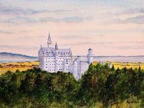Neuschwanstein Castle Bavaria Germany von bill holkham