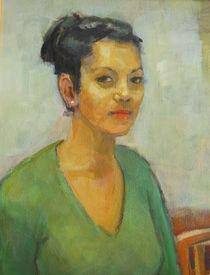 Porträtmalerei heute. von alfons niex