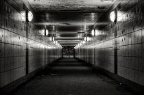 Tunnel I s/w - Hamburg von elbvue by elbvue
