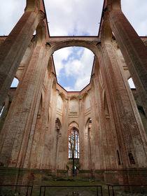 Ruine der Klosterkirche Dargun von Sabine Radtke