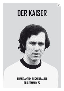 My soccer legends - Beckenbauer by chungkong