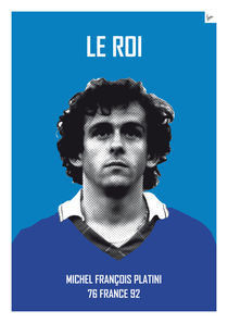 My soccer legends - Platini by chungkong