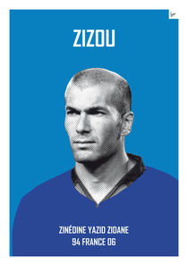 My soccer legends - zidane von chungkong