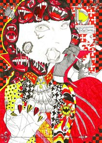 Die geheimnisvolle Vampir - Dame by Sven Bremer