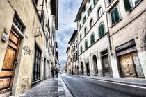 Florence Streets (Italy) von Marc Garrido Clotet