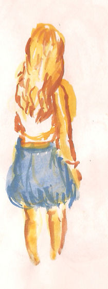 young girl by Cornelia Papendick