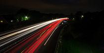Lichtzieher auf der Autobahn by Dennis Stracke