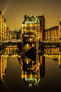 Wasserschloss Speicherstadt Hamburg von Dennis Stracke