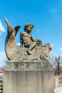 Skulptur im Kurpark Bad Dürkhei by Erhard Hess