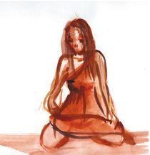 silence/Stille von Cornelia Papendick
