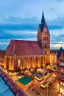 Christmas Market in Hannover von Michael Abid