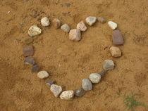 Herz aus Steinen von Susanne Winkels